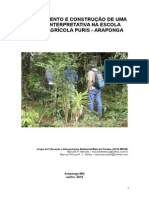 Planejamento e Construção de Uma Trilha Interpretativa Na EFA-Puris de Araponga