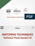 Matching Technical