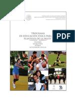 Programa de Estudio de Ef
