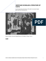 Our Catholic Heritage in English Literature of Pre-Conquest Days by Hickey, Emily