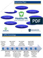 Healthy Pennsylvania Powerpoint from Dept. of Public Welfare