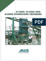 Svedala Hydrocone Crushers