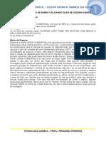 Prática 1 - Produção de Sabão - Receitas utilizadas.doc