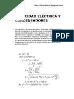 CAPACIDAD ELÉCTRICA Y CONDENSADORES