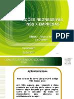 Apresentação Encontro Sindicatos Patronais Maio 2011 - Cuiabá - Definitivo