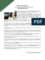 Dott.ssa Elena Borrini Curriculum Vitae  2014