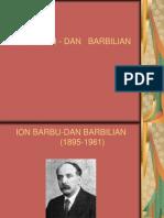 ION BARBU-DAN BARBILIAN.ppt