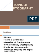 Topic 3 Cryptography