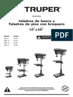 Taladro de Banco Truper Modelo Tapi-13