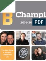 2014-16 Beer Store Strategic Plan