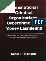 Transnational Criminal Organizations, Cybercrime & Money Laundering (Law Enforcement Handbook)