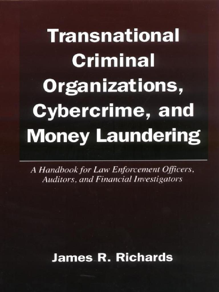 Transnational Criminal Organizations, Cybercrime U0026 Money Laundering (Law  Enforcement Handbook) | Money Laundering | Sicilian Mafia