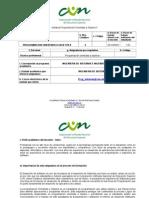 Syllabus Programacion Orientada a Objetos II 2014