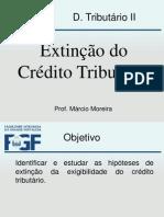 Tributário Aula Extinção Do Crédito