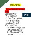 Chatpata Orange Snack