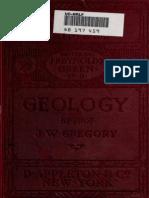 Gregory Geology (1910)