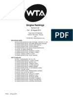 Rating August 2014 Singles_Numeric