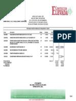 Programa de Montos Mensuales de Maquinaria y Equipo
