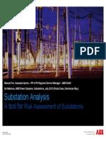 Manuel Quesada Risk Assessment of Substations