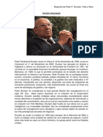 Biografia Peter Drucker