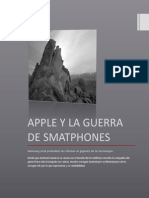 Apple y La Guerra de Smatphones