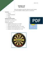 3 42 dartboard
