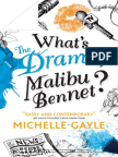 What's the Drama, Malibu Bennet by Michelle Gayle - Sample Chapter