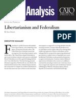 Libertarianism and Federalism