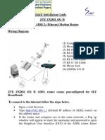 Zxdsl 831 II