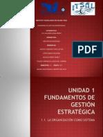 1.1 Organizacion Sistema