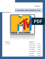 Case5 Mtv Building Brand Resonance