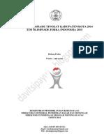 Soal Dan Pembahasan Olimpiade Fisika Sma Tingkat Kabupaten (Osk) Tahun 2014