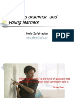 teaching grammar and  young learners