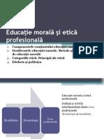 Educatie Morala