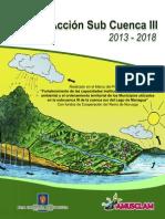 Plan de Acción Subcuenca III Managua 2013-2014