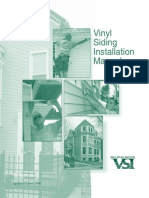 Vinyl Siding Installation Manual