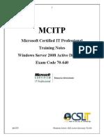 MCITP Doc
