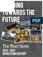2011-2012 Beer Store Operations Report