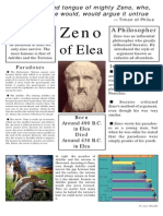 Class poster on Zeno of Elea