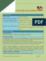 plantilla del plan de unidad autoguardado autoguardado