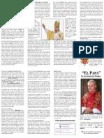 27.El Papa Sucesor de Simon Pedro (Folleto 27)