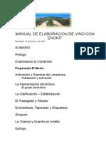 Manual de Elaboracion de Vino Con Enokit