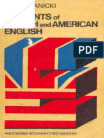 Elements of British and American English by Karol Janicki