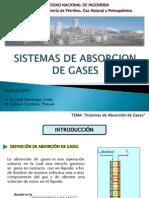 Semana 13 - Sistemas de Absorcion de Gases