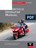 2012 Motorcycle Operators Manual