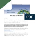 chicagos 50th ward newsletter