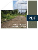 Ivy Ridge Trail Feasibility Study - April 2014