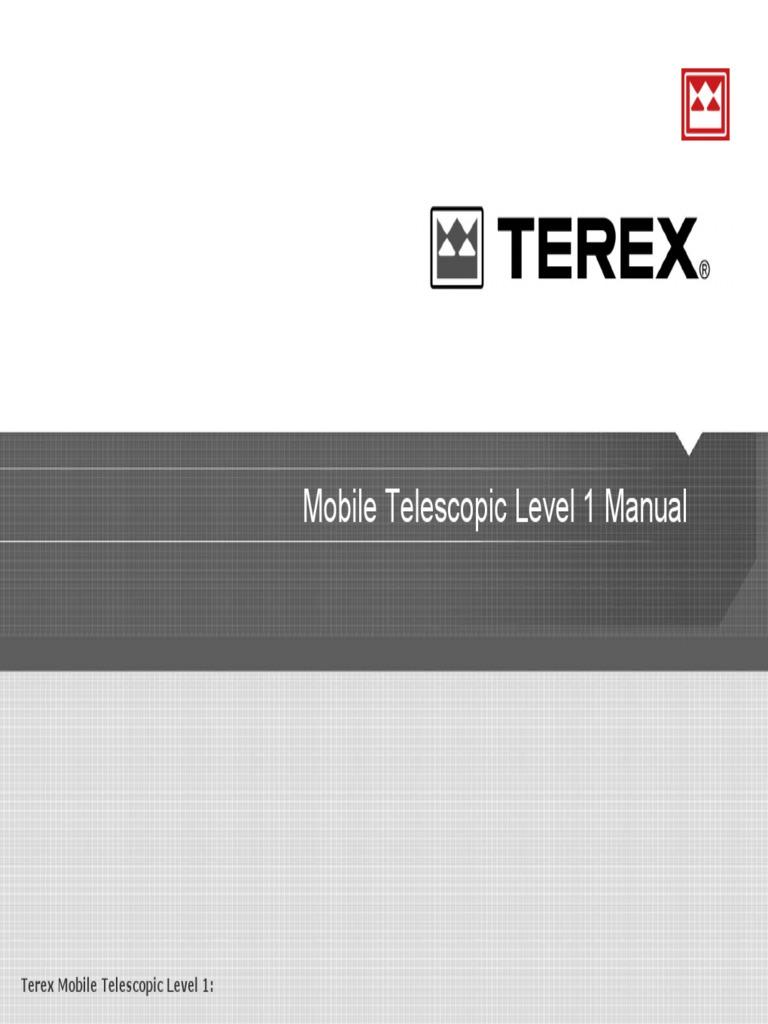 Grua Terex Rt Crane Machine Valve Ignition Switch Wiring Diagram