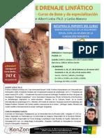 Curso de Drenaje Linfático Manual METODO LEDUC en Barcelona