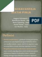 Pengukuran Kinerja Sektor Publik
